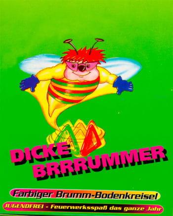 Dicker Brummer Bodenkreisel 3 Stück