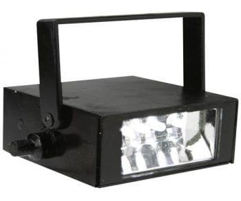 LED stroboscope white with Sound