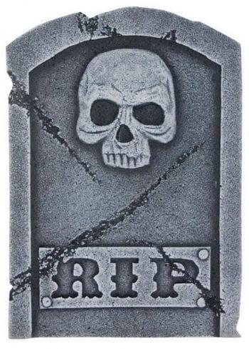 Grave stone Rip & Skull 40 cm