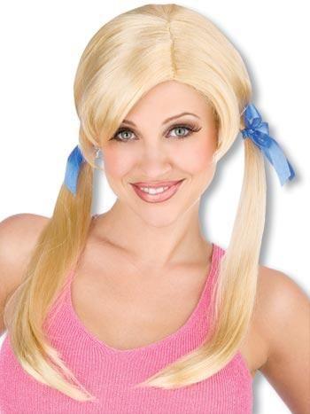 Cheerleader Wig Blond