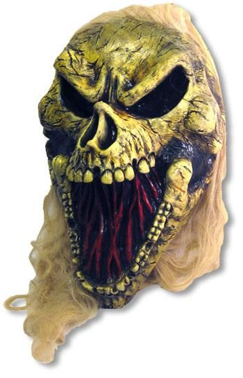 Giant Rotten Skull with LEDs