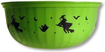 Green Halloween Bowl