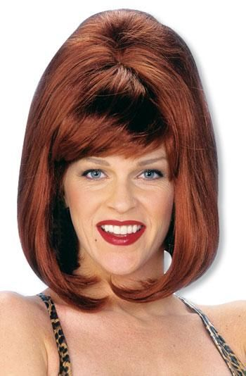 Peggy Carnival Wig Red