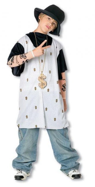 Rapper Child Costume L