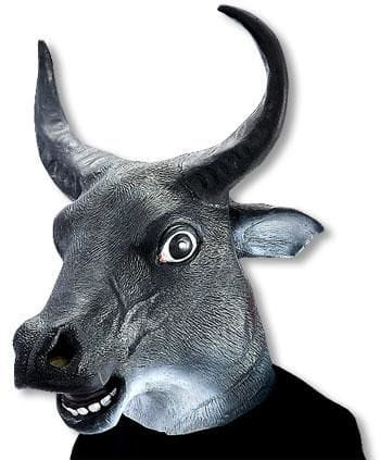 Taurus latex mask