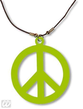 Plastic Hippie chain green