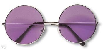 Purple 70s Sunglasses