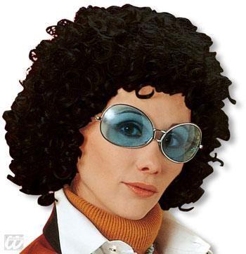Curly Wig Iris Black