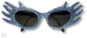 Space Jam Glitter Sunglasses Blue