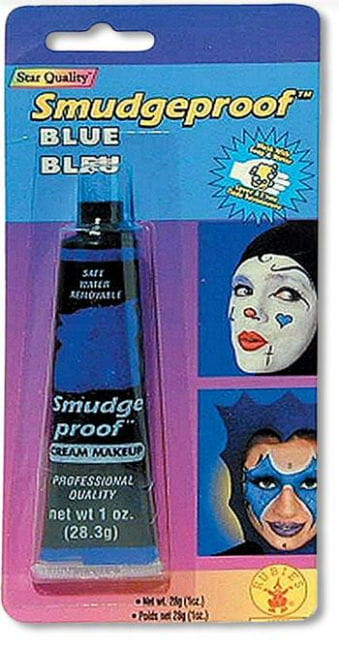 No Smudge Creme Makeup Blue