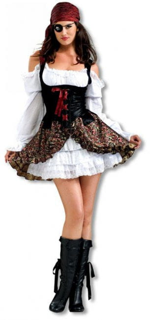 Hot Pirate Babe Costume