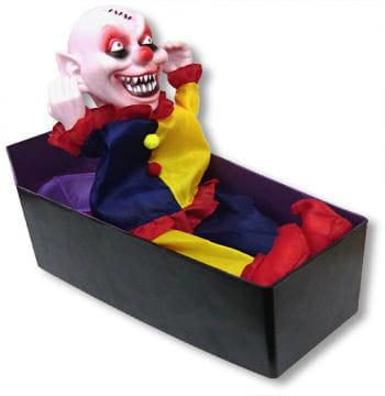 Clown im Sarg Animatronic