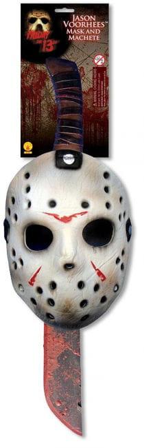Jason Machete and Mask Set