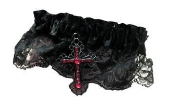 Garter with Gothic Cross