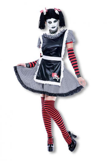 Gothic Rag Doll Costume M