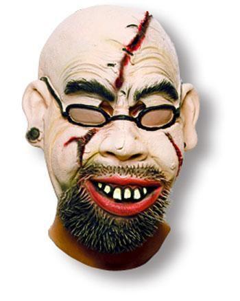 Zombie Teacher Maske
