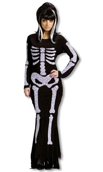 Skeleton Dress Costume ML