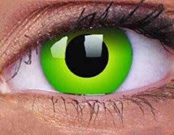 Kontaktlinsen Hulk Green
