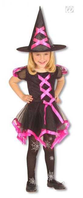 Witch Child Costume pink