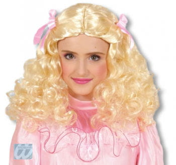 Beauty Queen Kinderperücke blond