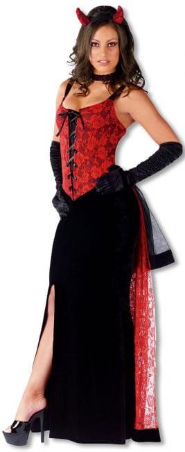 Gothic Rose Devil Costume SM