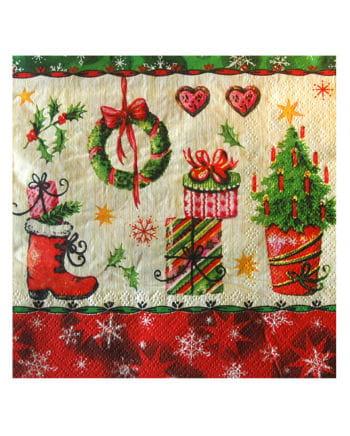 Christmas Motif Napkins