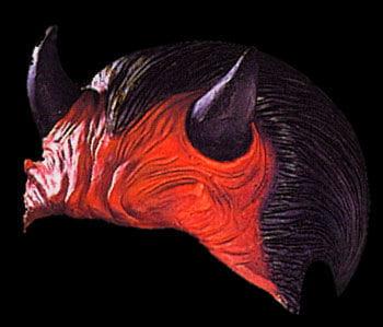 Devil Half Mask