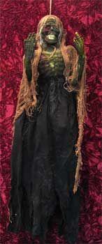Horrible Skull Gauze Witch