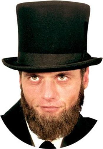 Real Hair Beard Lincoln Brown