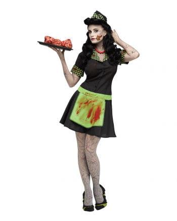 50s Zombie Waitress Costume