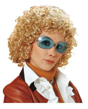 70s Curly Wig Uschi Blond