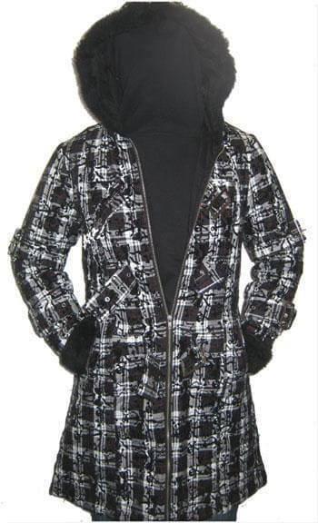 Celina Coat With Plush Hood Size Gr. XL