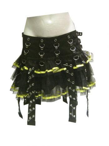 Punk Mini Skirt Size L