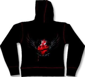 Sacred Heart Girly Hoody L