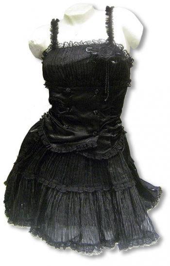 Schwarzes Mini Kleid Xtra Large