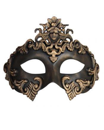 Antique eye mask gold-black