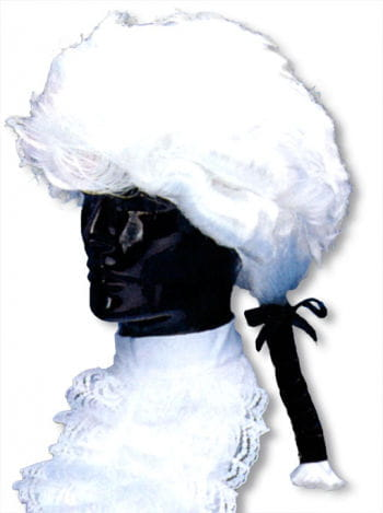 Baroque Wig with Ponytail
