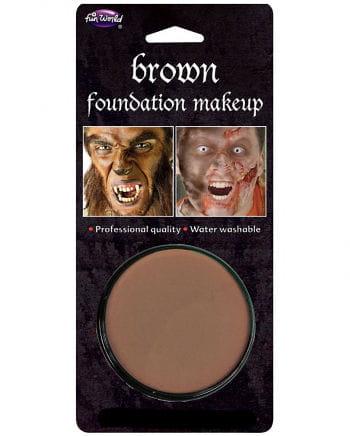 Halloween Basis Make-up braun