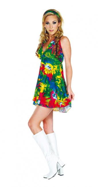 Batik Hippie Minikleid