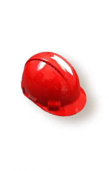 Original red construction helmet