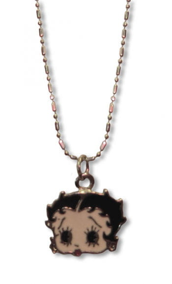 Betty Boop Pin Up Necklace jewelry