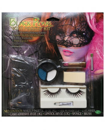 Black Pearl Gothic Makeup Kit