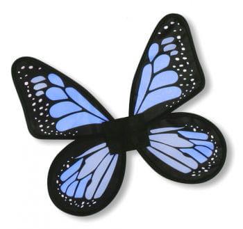 Satin Schmetterlingsflügel Blau
