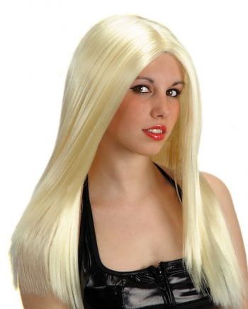 Long Hair Wig Blond, Parted