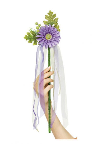 Blumenfee Zauberstab violett
