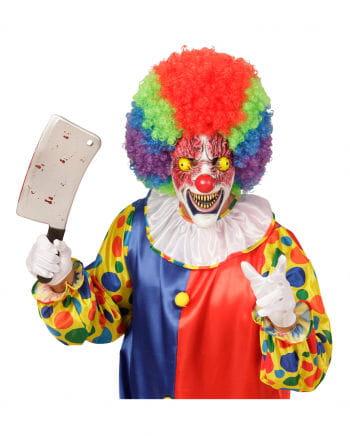 Blutiger Horrorclown Maske