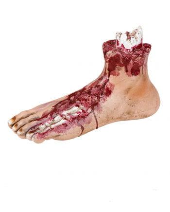 Blutiger Zombie Fuß