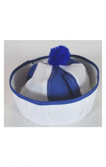 Bobby Matrosenmütze weiß/blau