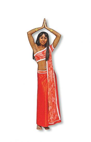 Bollywood Kostüm Rot