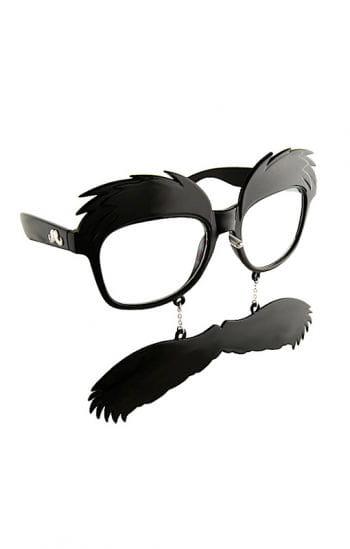 Brille mit Walrossbart